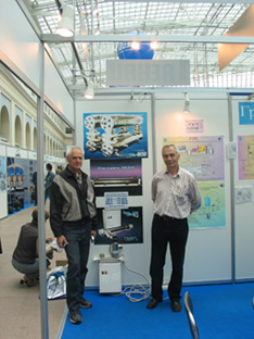 "At the ""AQUATECH -2004"" exhibition.(Russia)."
