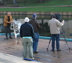 "Picture-taking on the ""Lazur"" technologies for the Australian television (June 7, 2005)"